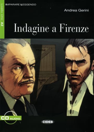 Cover Indagine a Firenze 978-3-12-565031-2 Andrea Gerini Italienisch