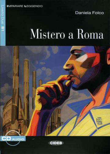 Cover Mistero a Roma 978-3-12-565032-9 Daniela Folco Italienisch