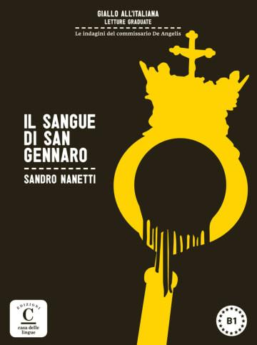 Cover Il sangue di San Gennaro 978-3-12-565046-6 Sandro Nanetti Italienisch