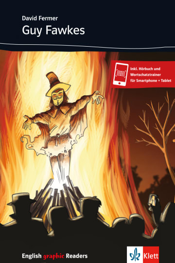 Cover Guy Fawkes 978-3-12-572266-8 David Fermer Englisch