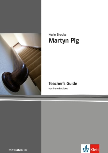 Cover Martyn Pig 978-3-12-578166-5 Irene Loizides, Kevin Brooks Englisch