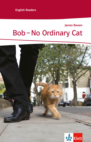 Cover Bob - No Ordinary Cat 978-3-12-578115-3 James Bowen Englisch