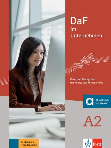 Cover DaF im Unternehmen A2 978-3-12-676445-2 Deutsch als Fremdsprache (DaF)