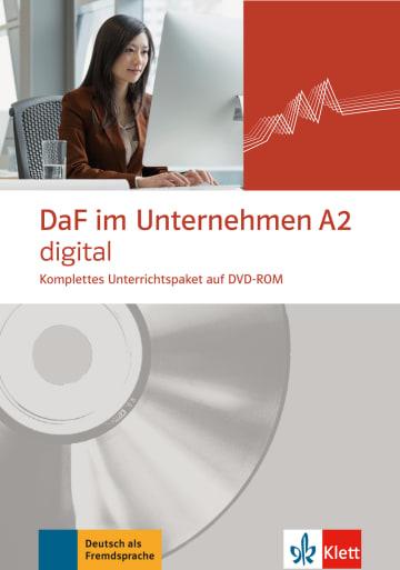 Cover DaF im Unternehmen A2 digital 978-3-12-676448-3 Deutsch als Fremdsprache (DaF)
