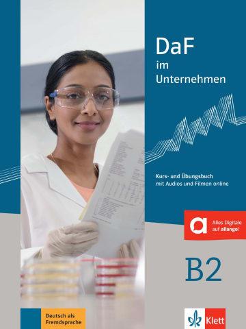 Cover DaF im Unternehmen B2 978-3-12-676455-1 Deutsch als Fremdsprache (DaF)