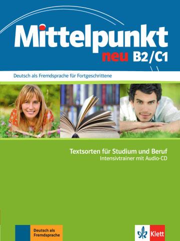 Cover Mittelpunkt neu B2/C1, Intensivtrainer con CD de audio 978-3-12-676617-3 Deutsch als Fremdsprache (DaF)
