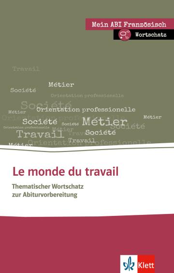 Cover Le monde du travail 978-3-12-519537-0 Französisch