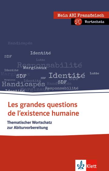 Cover Les grandes questions de l'existence humaine 978-3-12-519538-7 Französisch