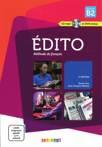 Cover Édito B2 (3° édition) 978-3-12-529394-6 Französisch