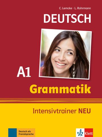 Cover Deutsch Grammatik A1 978-3-12-605165-1 Deutsch als Fremdsprache (DaF)