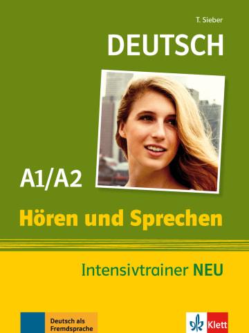 Cover Hören und Sprechen Intensivtrainer A1/A2 978-3-12-605170-5 Deutsch als Fremdsprache (DaF)