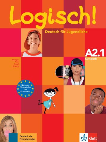 Cover Logisch! A2.1 978-3-12-605175-0 Deutsch als Fremdsprache (DaF),Deutsch als Zweitsprache (DaZ)