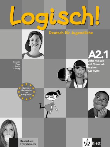 Cover Logisch! A2.1 978-3-12-605176-7 Deutsch als Fremdsprache (DaF),Deutsch als Zweitsprache (DaZ)