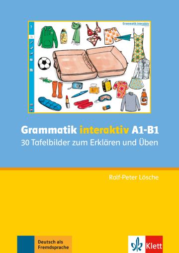 Cover Grammatik interaktiv A1-B1 978-3-12-605179-8 Deutsch als Fremdsprache (DaF)