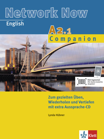 Cover Network Now A2.1 Companion 978-3-12-605182-8 Englisch