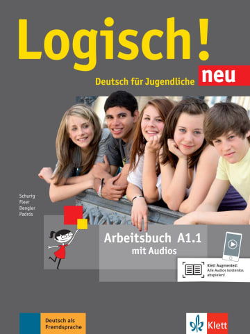 Cover Logisch! neu A1.1 978-3-12-605204-7 Deutsch als Fremdsprache (DaF),Deutsch als Zweitsprache (DaZ)