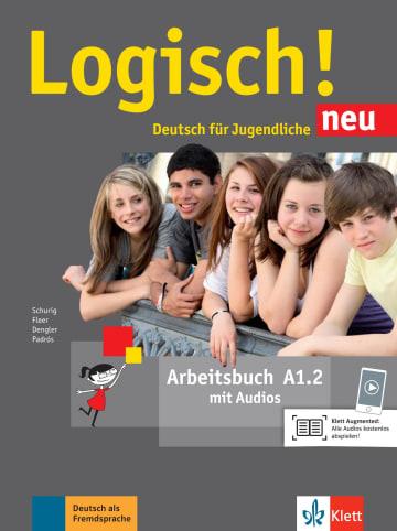 Cover Logisch! neu A1.2 978-3-12-605206-1 Deutsch als Fremdsprache (DaF),Deutsch als Zweitsprache (DaZ)