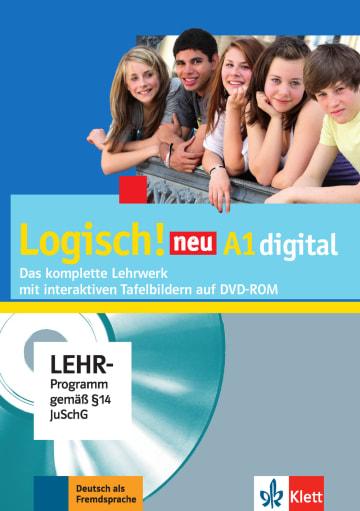 Cover Logisch! neu A1 digital 978-3-12-605210-8 Deutsch als Fremdsprache (DaF),Deutsch als Zweitsprache (DaZ)