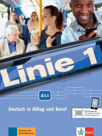 Cover Linie 1 A1.1 978-3-12-607050-8 Deutsch als Fremdsprache (DaF)