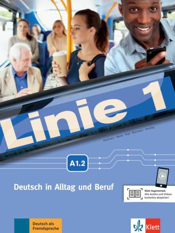 Cover Linie 1 A1.2 978-3-12-607053-9 Deutsch als Fremdsprache (DaF)