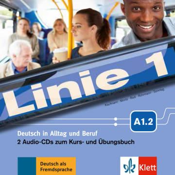 Cover Linie 1 A1.2 978-3-12-607054-6 Deutsch als Fremdsprache (DaF)