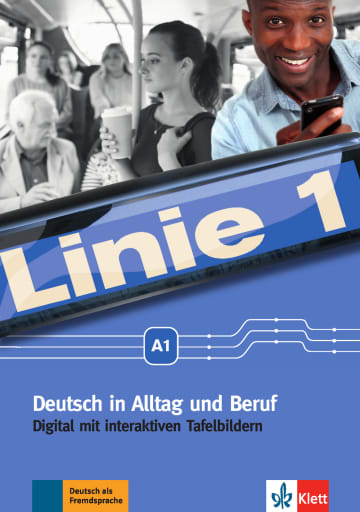 Cover Linie 1 A1 digital 978-3-12-607058-4 Deutsch als Fremdsprache (DaF)
