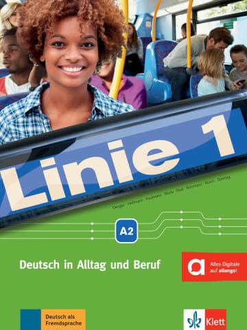 Cover Linie 1 A2 978-3-12-607074-4 Deutsch als Fremdsprache (DaF)