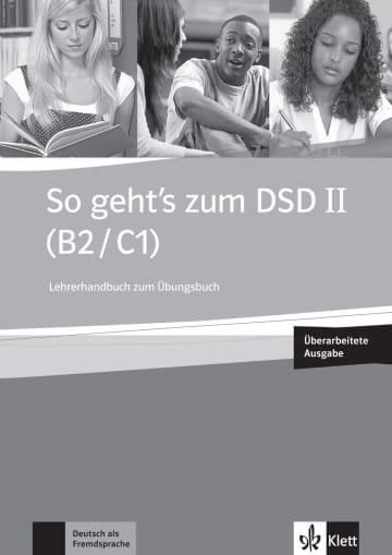 Cover So geht's zum DSD II (B2/C1) Neue Ausgabe 978-3-12-675987-8 Deutsch als Fremdsprache (DaF)