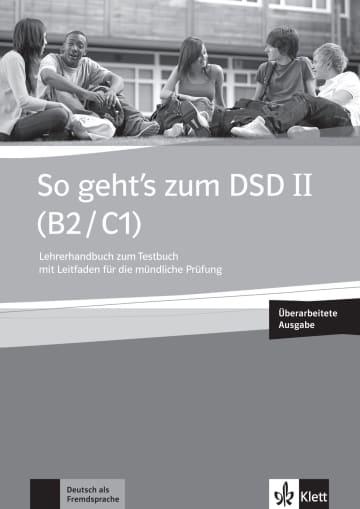Cover So geht's zum DSD II (B2/C1) Neue Ausgabe 978-3-12-675989-2 Deutsch als Fremdsprache (DaF)
