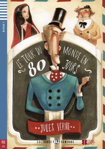 Cover Le tour du monde en 80 jours 978-3-12-514741-6 Jules Verne Französisch