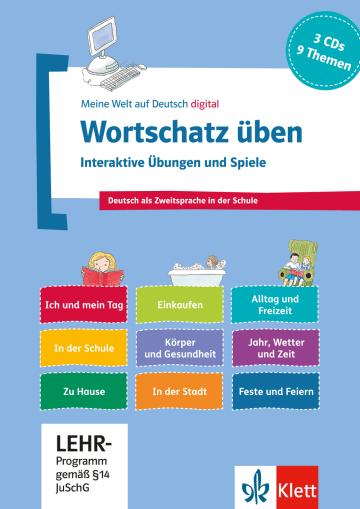 Cover Wortschatz üben: Interaktive Übungen und Spiele 978-3-12-674887-2 Deutsch als Fremdsprache (DaF),Deutsch als Zweitsprache (DaZ)