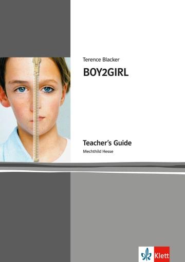 Cover BOY2GIRL 978-3-12-578158-0 Mechthild Hesse, Terence Blacker Englisch