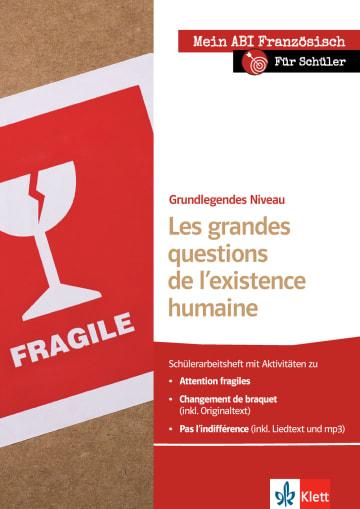 Cover Les grandes questions de l'existence humaine 978-3-12-592288-4 Laure Boivin, Michèle Périgault, Sabine Waßmundt-Fischer Französisch