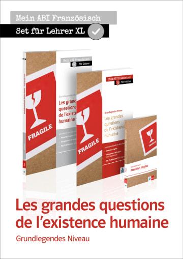 Cover Les grandes questions de l'existence humaine X681217 Französisch