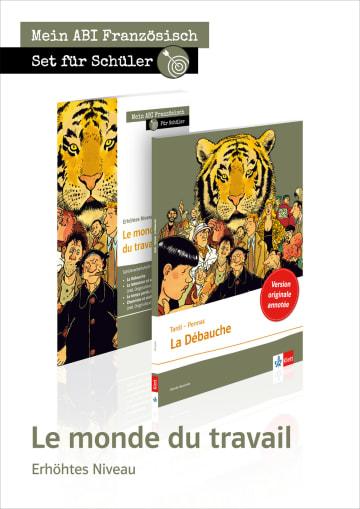 Cover Set Le monde du travail 978-3-12-592398-0 Roland Köß, Daniel Pennac, Jacques Tardi Französisch