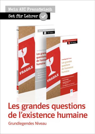 Cover Les grandes questions de l'existence humaine, Grundlegendes Niveau X681222 Französisch