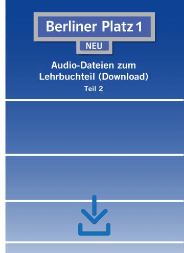 Cover Berliner Platz 1 NEU NP01160606801 Deutsch als Fremdsprache (DaF)