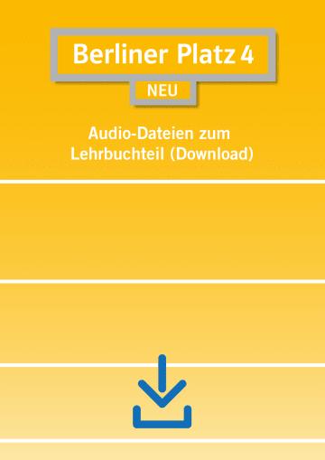 Cover Berliner Platz 4 NEU NP01160607901 Deutsch als Fremdsprache (DaF)