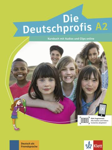 Cover Die Deutschprofis A2 978-3-12-676480-3 Deutsch als Fremdsprache (DaF)