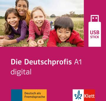 Cover Die Deutschprofis A1 978-3-12-676474-2 Deutsch als Fremdsprache (DaF)
