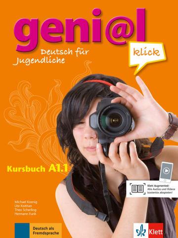 Cover geni@l klick A1.1 978-3-12-605270-2 Deutsch als Fremdsprache (DaF),Deutsch als Zweitsprache (DaZ)