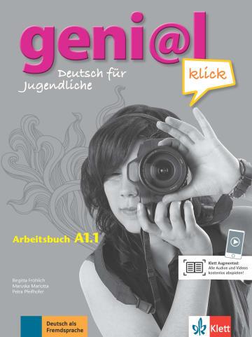 Cover geni@l klick A1.1 978-3-12-605271-9 Deutsch als Fremdsprache (DaF),Deutsch als Zweitsprache (DaZ)