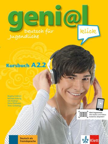 Cover geni@l klick A2.2 978-3-12-605276-4 Deutsch als Fremdsprache (DaF),Deutsch als Zweitsprache (DaZ)