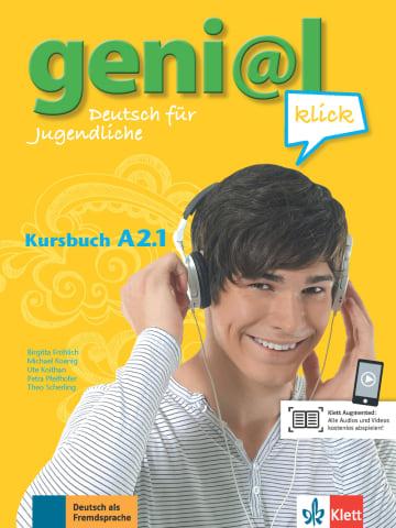 Cover geni@l klick A2.1 978-3-12-605274-0 Deutsch als Fremdsprache (DaF),Deutsch als Zweitsprache (DaZ)