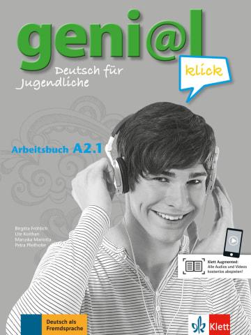 Cover geni@l klick A2.1 978-3-12-605275-7 Deutsch als Fremdsprache (DaF),Deutsch als Zweitsprache (DaZ)