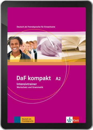 Cover DaF kompakt A2 978-3-12-676178-9 Deutsch als Fremdsprache (DaF)