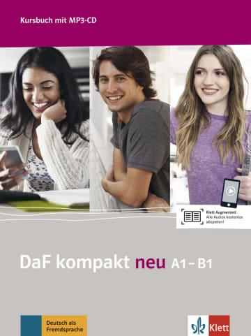 Cover DaF kompakt neu A1-B1 978-3-12-676310-3 Deutsch als Fremdsprache (DaF)