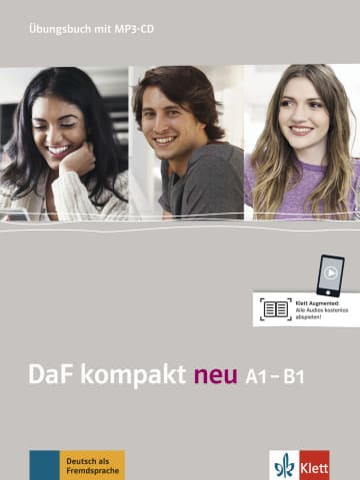 Cover DaF kompakt neu A1-B1 978-3-12-676311-0 Deutsch als Fremdsprache (DaF)