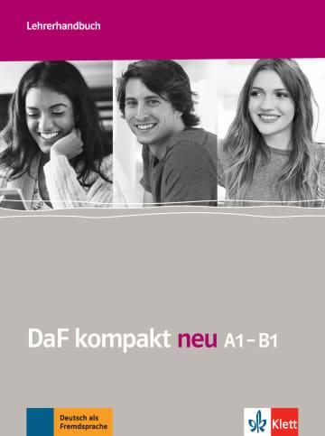 Cover DaF kompakt neu A1-B1 978-3-12-676312-7 Deutsch als Fremdsprache (DaF)