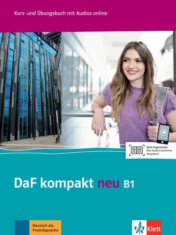 Cover DaF kompakt neu B1 978-3-12-676315-8 Deutsch als Fremdsprache (DaF)